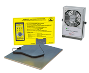 ESD Test Stations, Ionizing units and Accessories