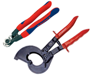 Cable Shears and Cable Cutters