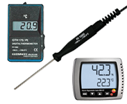 Thermometers and Displays
