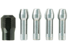 Collet chuck toolkit, 4485, 0.8/1.6/2.4/3.2 mm