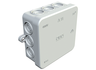 Surface-mount wet room junction box