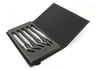 Kit of 5 SMD tweezers: SM103, SM107, SM108, SM111, SM115.