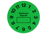 Inspection stickers, PRP 35-20 GN, green
