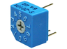 Rotary coding switch, 10, 0.1 A, -40 °C
