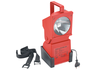Portable searchlight, 30 lm, light range 60 m, 6.0 V/7,0 Ah lead gel accumulator, 2600 g, AccuLux JobLux 90 DB LED