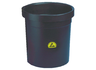 Antistatic refuse container