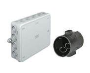 Flush-mounted Boxes and Junction Boxes