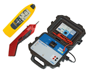 Mains analysis measuring instruments and Line and Cable testers