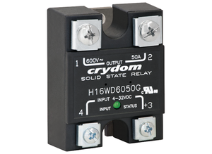 High-voltage solid state relay, zero voltage switching, 25 A